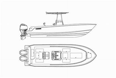 Hull Boat Fishing Boats Contender Deck Engineered