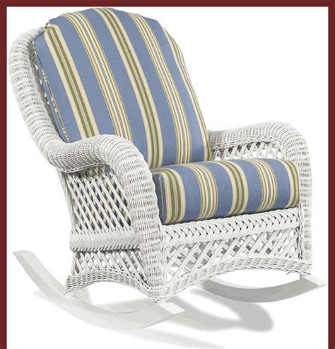 white wicker rocker traditional outdoor lounge chairs