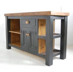 butcher block kitchen island table cuisine gris et bois en 50 modèles variés pour tous les goûts