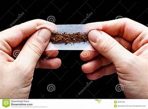 Rolling Cigarette And Tobacco Stock Photography ...