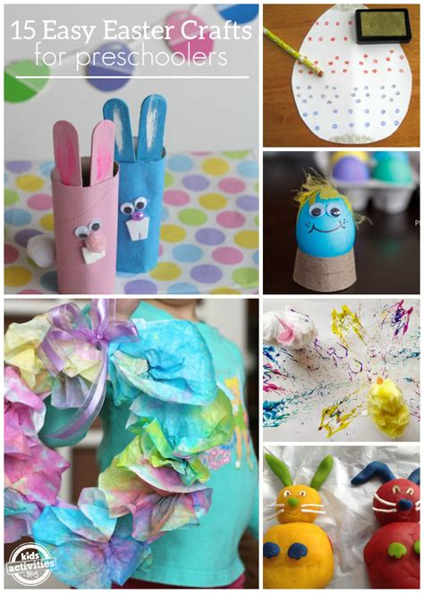 15 easy easter crafts for preschoolers 136 | Easter Craft Collage