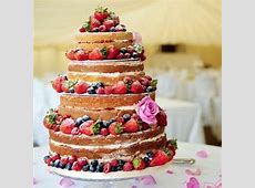 31 Naked Wedding Cakes hitchedcouk
