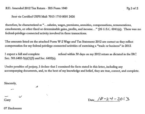 Example Letter Claiming Tax Refund  Appeal Letters
