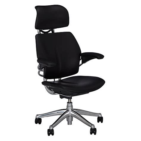 buy humanscale freedom office chair with headrest lewis