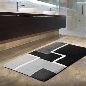 Tapis De Bain Design Qualit Certifie Lavable