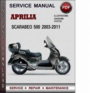 Aprilia Scarabeo 500 2003
