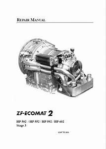 Zf Ecomat 2 Hp502    Hp552    Hp592    Hp602 Repair Manual Pdf