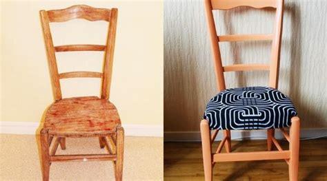 tapisser une chaise en tissu 20 idées pour relooker une chaise hellocoton