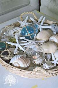 best 25 coffee table centerpieces ideas on pinterest With coastal coffee table decor