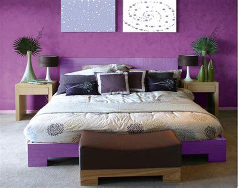 chambre couleur violet associer la couleur violet dans la chambre le salon la