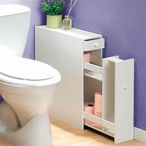 Meuble organiseur toilette TEMPS L