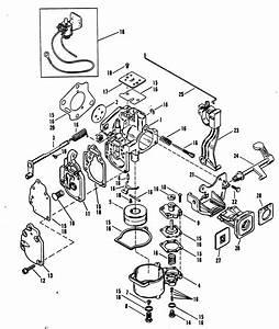 Mercury 2cyl  20 Hp 2 Stroke Wiring Diagram