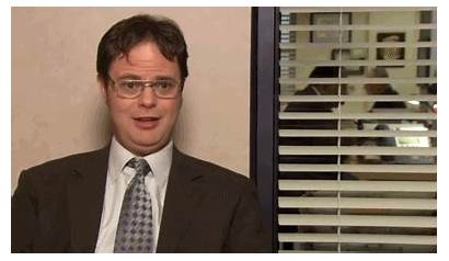 Gifs Office Animated Dwight Tweet Giphy