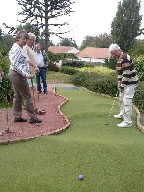 mini golf de bureau le mini golf miniature de fouras senioriales
