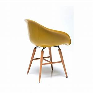 Chaise avec accoudoirs design moutarde forum kare design for Meuble salle À manger avec acheter chaise design