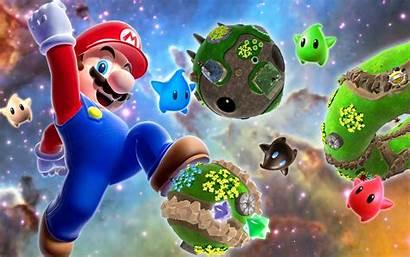 Mario Wallpapers Screensaver Galaxy Backgrounds