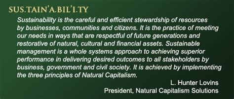 corporate leadership  sustainability ecoliving  action