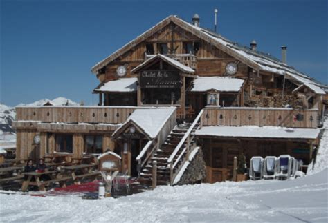 chalet de la marine val thorens val thorens mountain restaurants