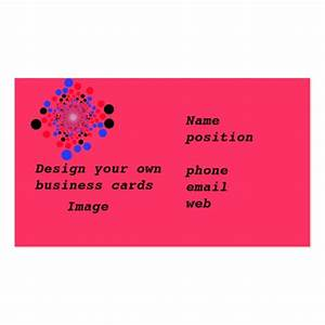 Business cards design your own zazzle for Customize your own business cards