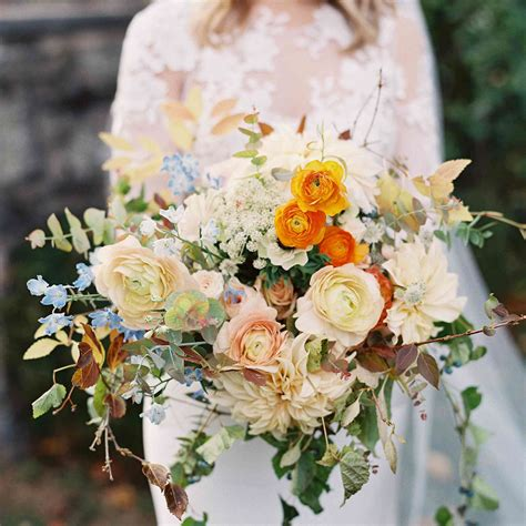 47 Beautiful Bouquets For A Fall Wedding