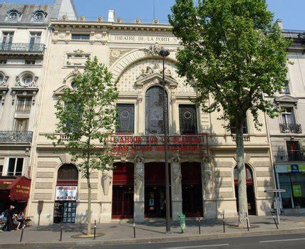 theatre porte martin le th 233 226 tre de la porte martin