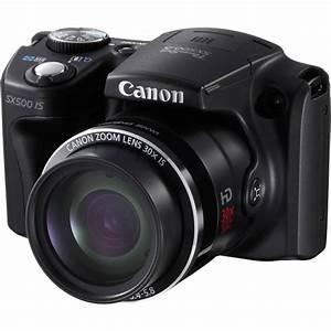 Canon PowerShot SX500 IS Digital Camera 6353B001 B&H Photo Video