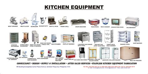 cuisine equipement kitchen tools and equipment clipart clipground