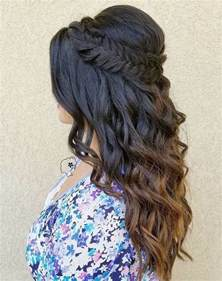 Quince Hairstyles Half Up Hair Down
