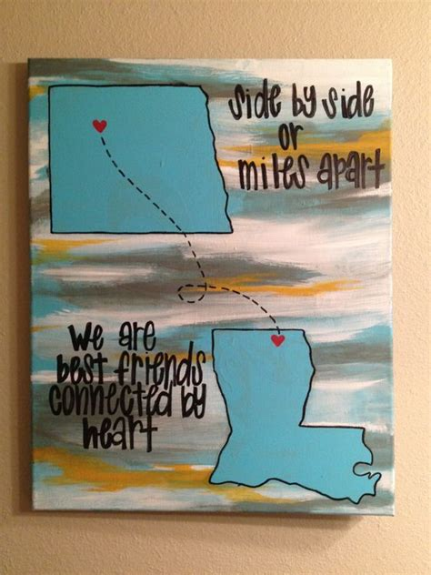 friend canvas canvas by apart best friends and we on Best
