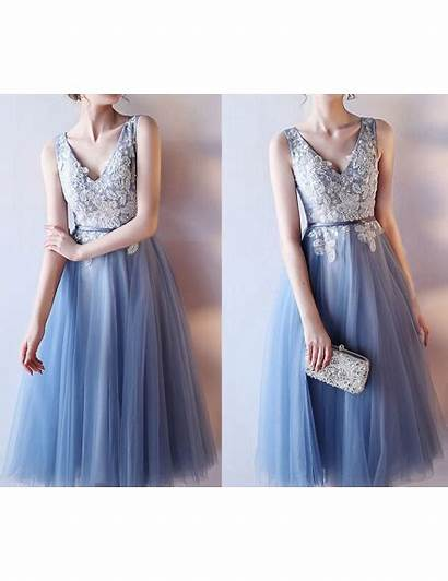 Graduation Prom Homecoming Tulle Neck Appliques Noble