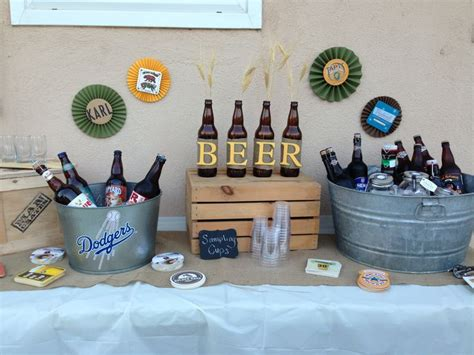 25+ Best Ideas About Beer Party Decorations On Pinterest