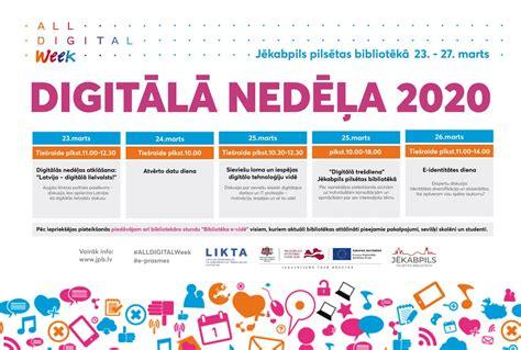 Digitālā nedēļa 2020