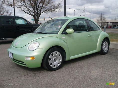 2002 Cyber Green Metallic Volkswagen New Beetle Gl Coupe
