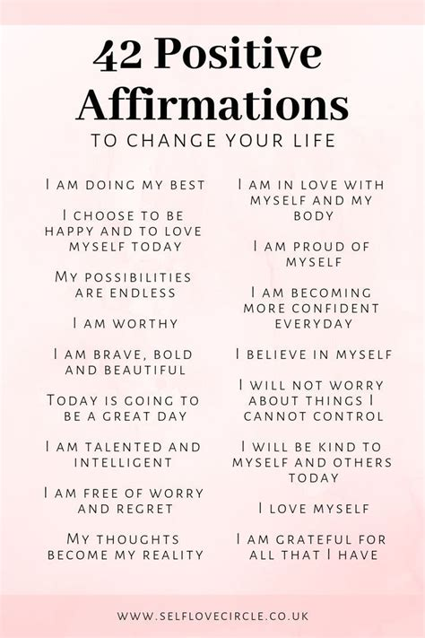 quotes positive affirmations  love affirmations