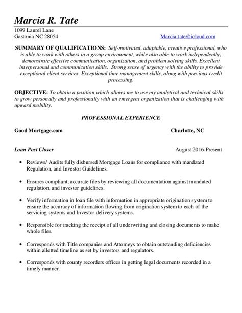Updated Resume 2017 by Marcia Tate Resume 2017 Updated