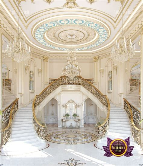 classical luxury house interior