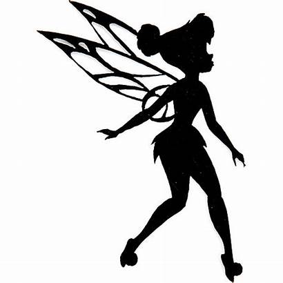 Silhouette Tinkerbell Fairy Printable Disney Stencils Printablee