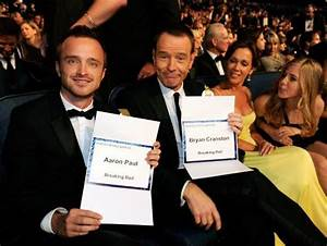 Bryan Cranston and Aaron Paul, Breaking Bad most deserved ...