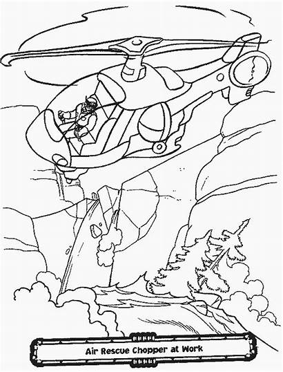 Rescue Heroes Coloring Pages