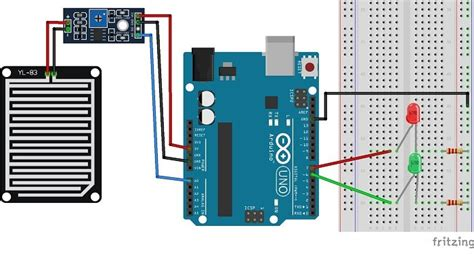 guide  rain sensor fc   yl   arduino random