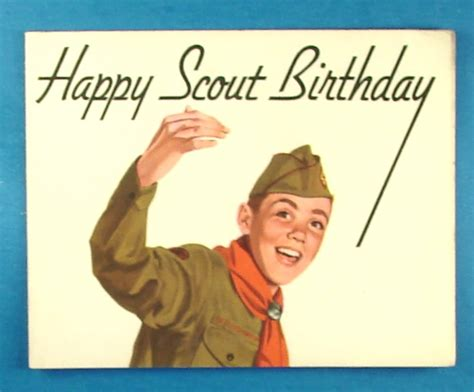 Scouting Memorabilia :: Miscellaneous :: 1950s Happy Scout ...