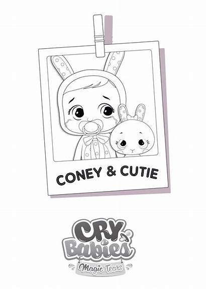 Coney Cry Babies Tears Magic Toys Colora