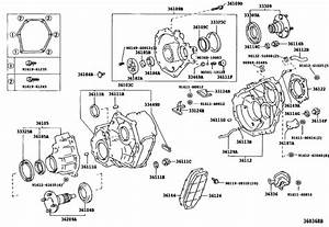 Transfer Case  U0026 Extension Housing For 1990