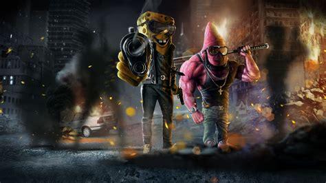 #patrick Star, #spongebob Squarepants, #gun, #mafia