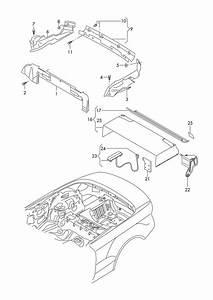 2010 Audi S5 Cabriolet Contact Switch  Sensor