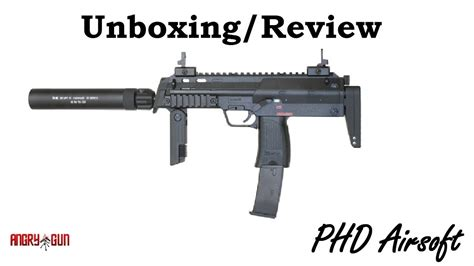 vfc mp angrygun silencer airsoft unboxingreview youtube