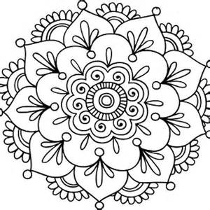Simple Mandala Tattoo Designs