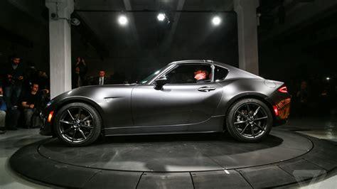 Mazda Unveils The Mx-5 Rf, A Miata With A Gorgeous Targa