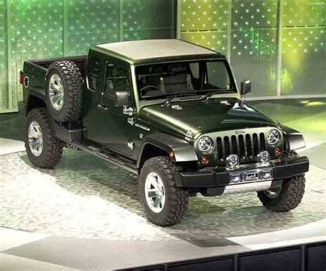 jeep gladiator jeep expected to name its wrangler based pickup as gladiator