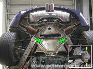 Porsche Boxster Rear Suspension Support And Pedro Bar